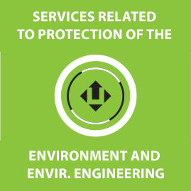 Services related to protection of the environment and environmental engineering