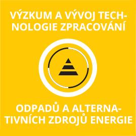 Výzkum a vývoj technologie zpracování odpadů z alternativních zdrojů energie